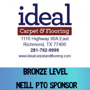 Ideal Carpet Supports Neill PTO